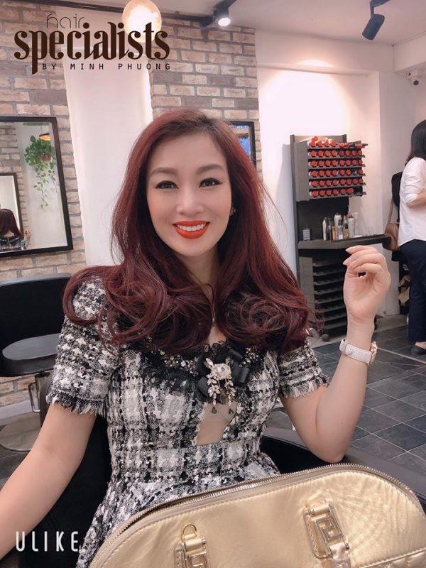 tiệm làm tóc Hà Nội