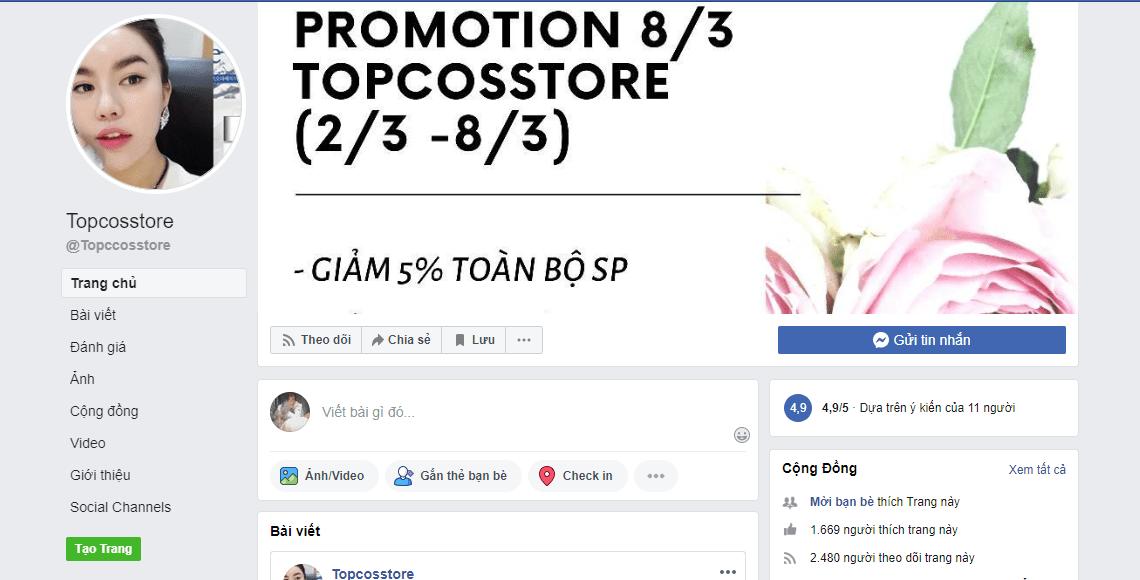 bán mỹ phẩm giá rẻ Hà Nội
