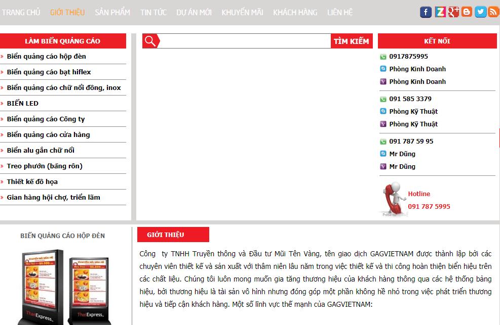 công ty quảng cáo hà nội