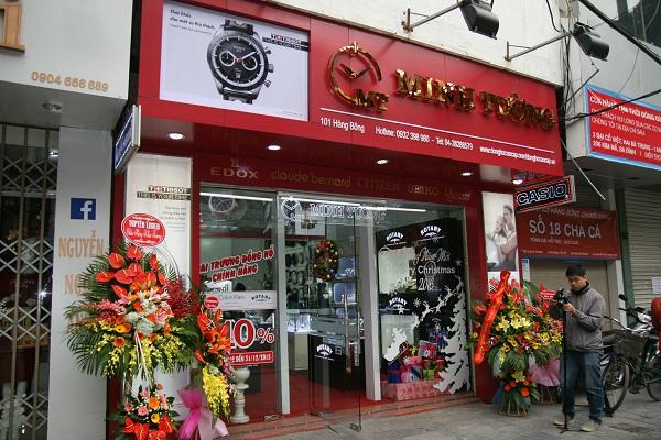 cửa hàng phân phối đồng hồ chất lượng kĩ thuật cao