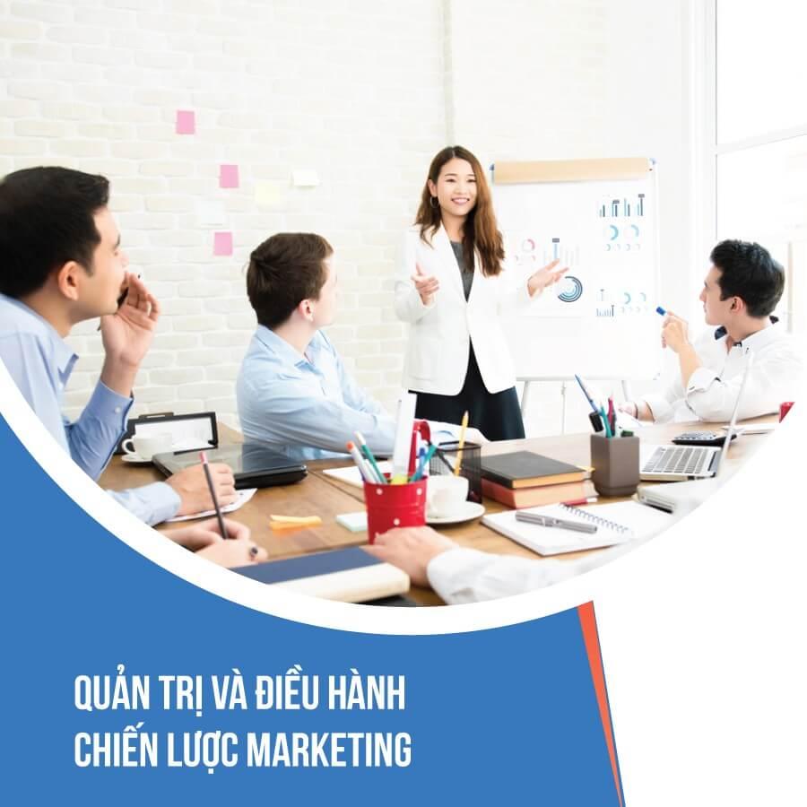 Quản trị và điều hành chiến lược marketing