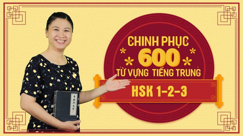 CHinh phục 600 từ vựng tiếng Trung