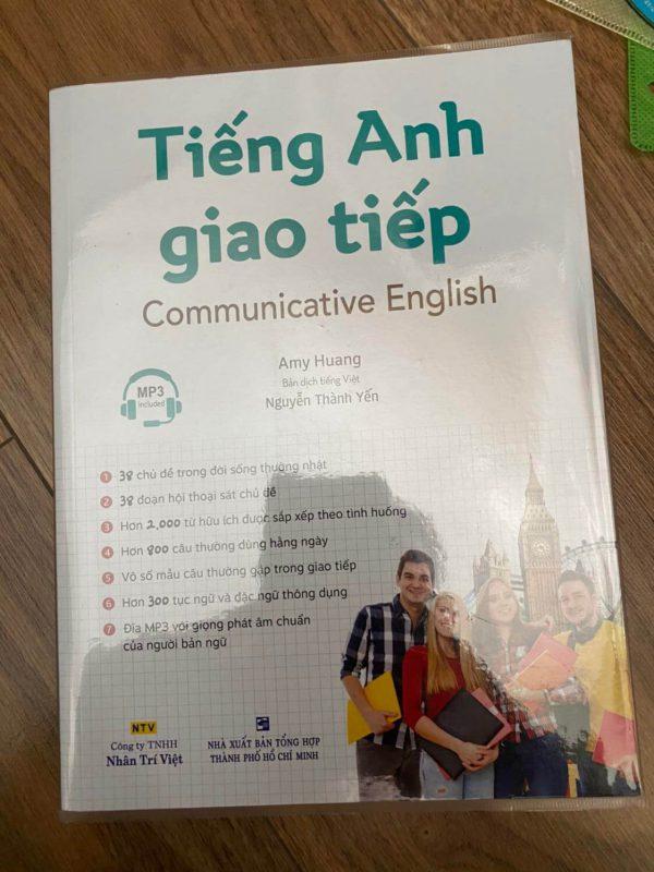 sách học tiếng anh giao tiếp