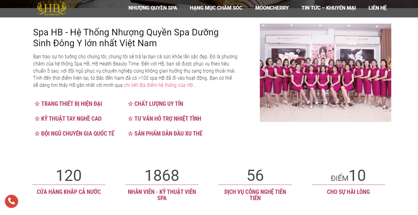 spa Hà Nội