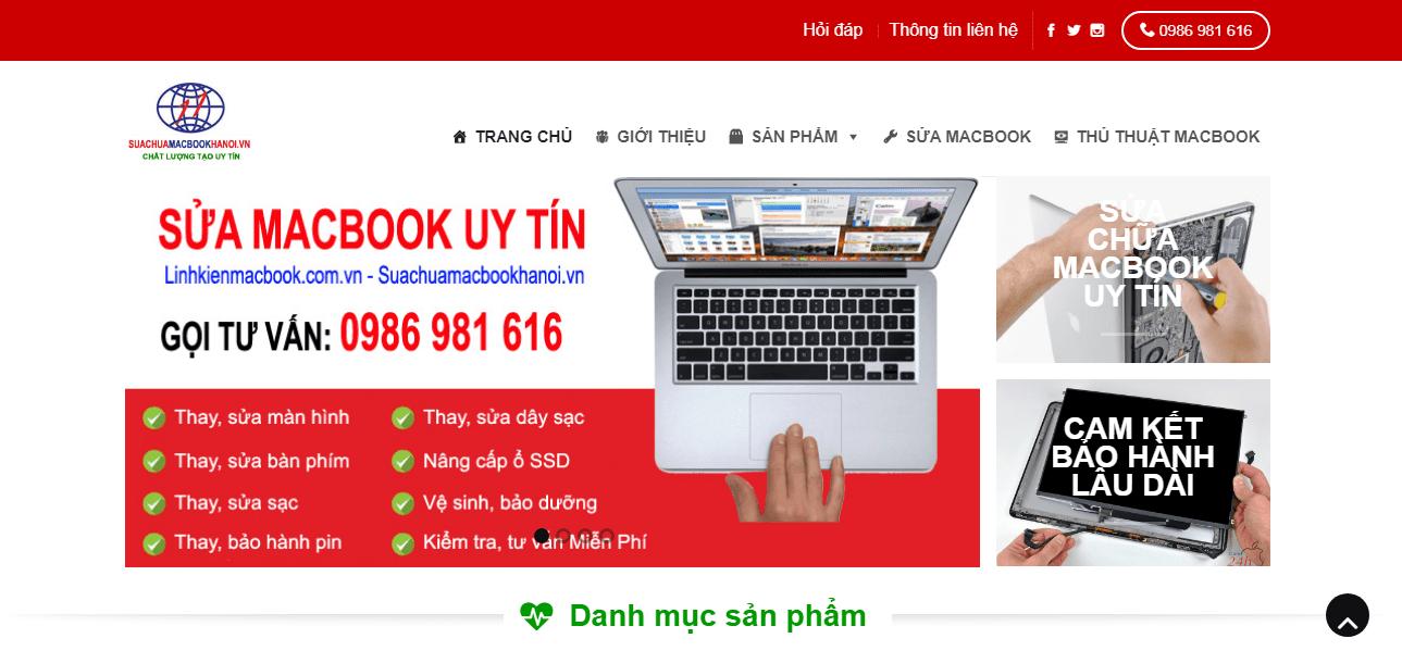 Sửa Chữa Macbook Hà Nội
