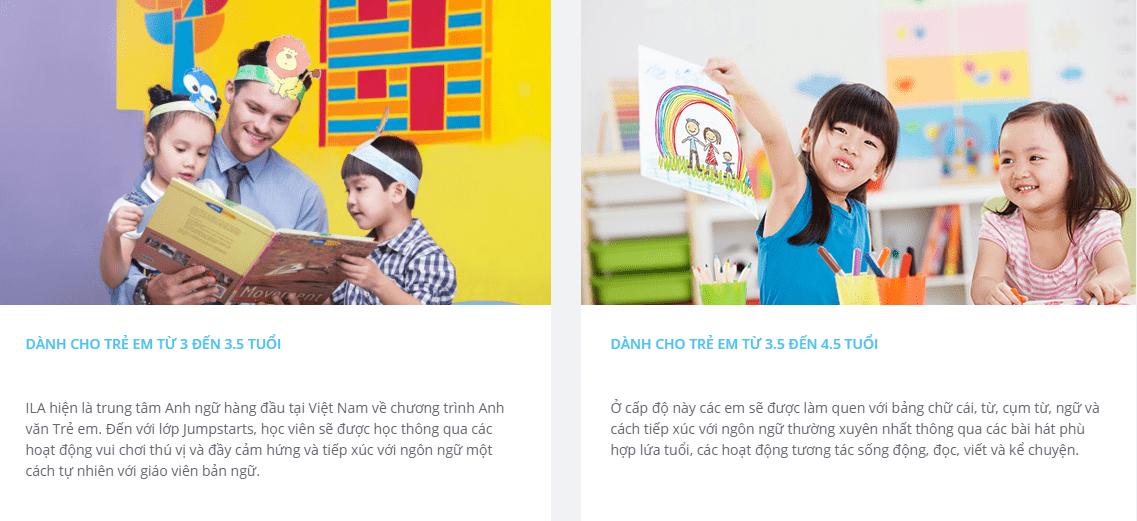 Trung tâm tiếng Anh cho bé tại Hà Nội