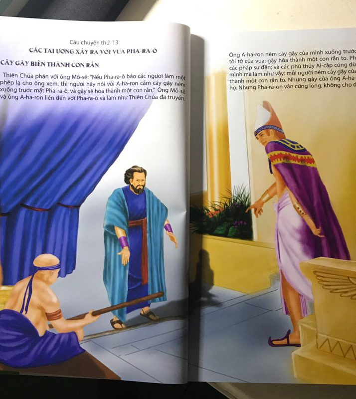Truyện Kinh Thánh Dành Cho Thiếu Nhi