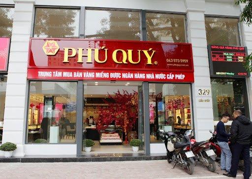 tiệm vàng bạc Hà Nội