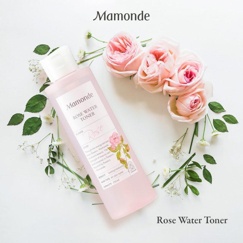 nước hoa hồng cho da mụn