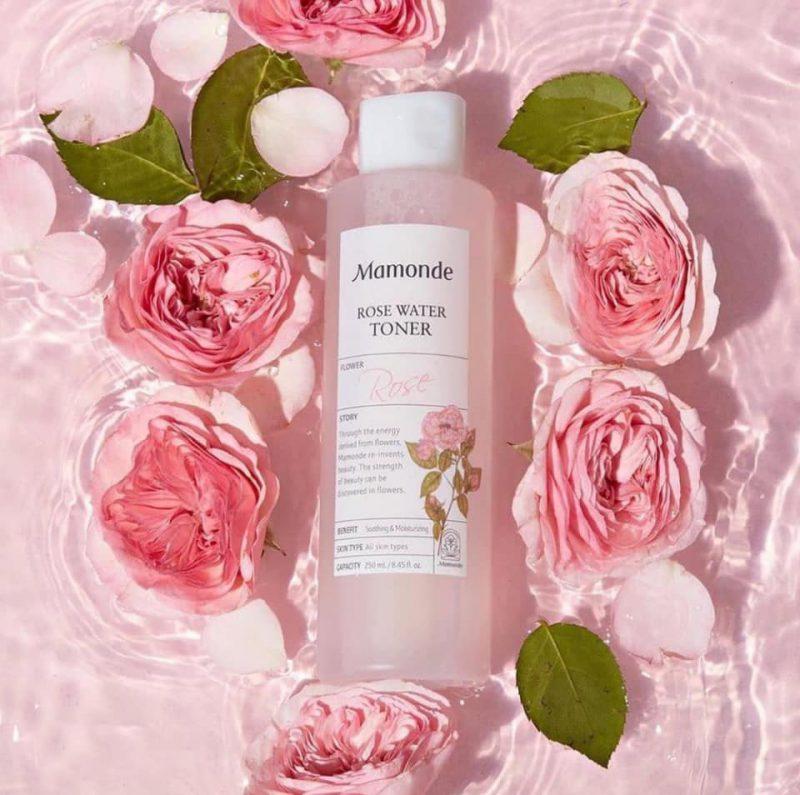Nước hoa hồng Mamonde ROSE 250ml