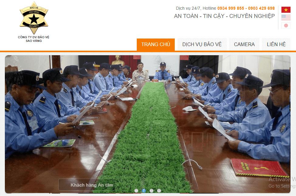 công ty bảo vệ Hà Nội