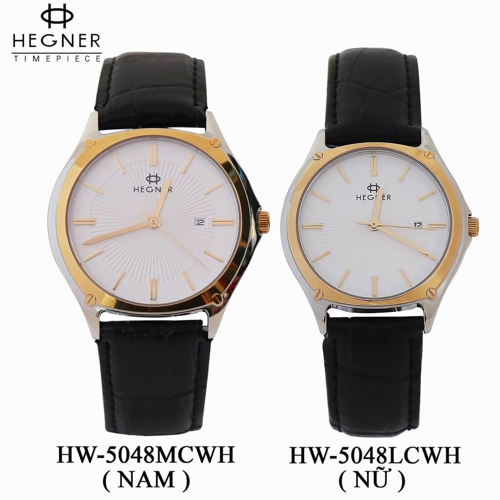 Đồng Hồ Cặp Đôi Hegner HW-5048MCWH
