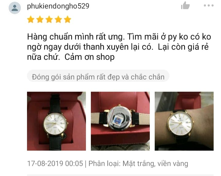 Đồng hồ 2 triệu chính hãng