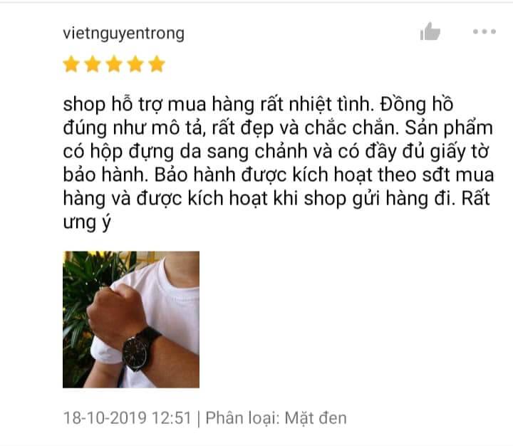 Phản hồi của khách hàng trên Shopee