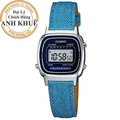 Đồng hồ dây da Casio chính hãng
