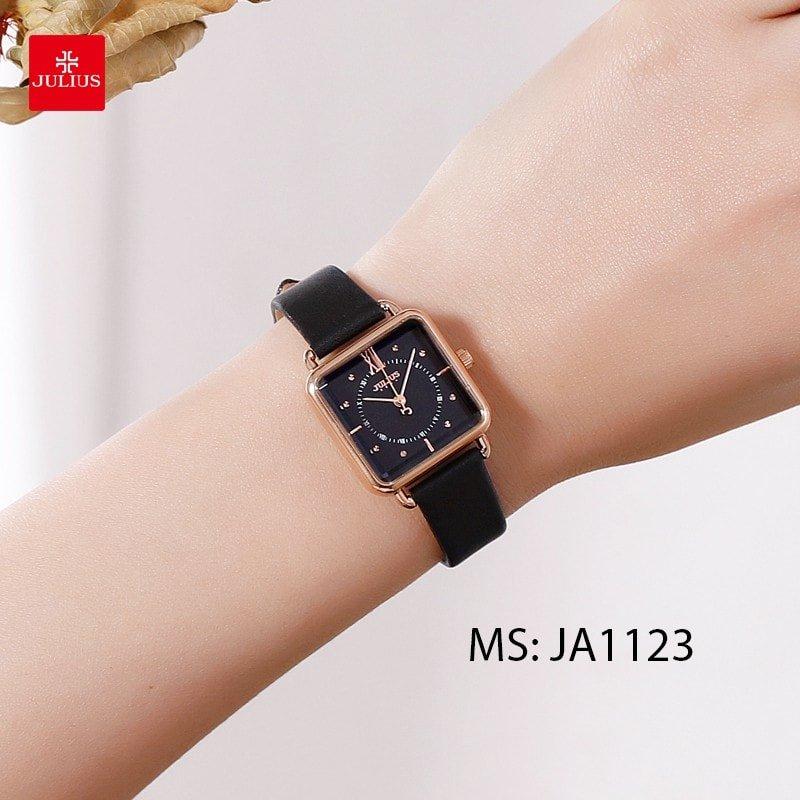 đồng hồ nữ dây da Ja1123