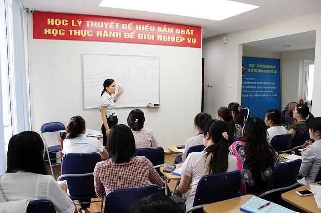 chi nhánh đào tạo kế toán thực hành tại phía Nam của Kế toán Hà Nội