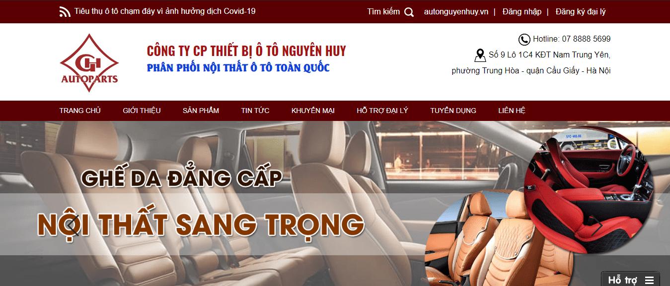 nội thất ô tô Hà Nội