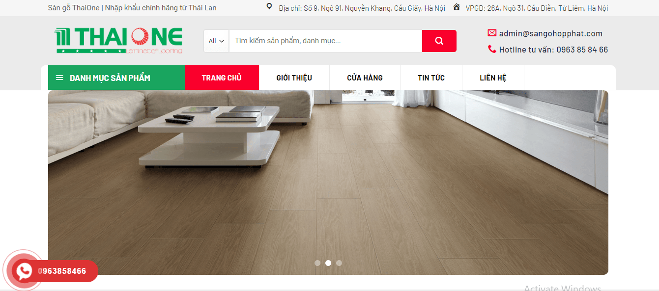sàn gỗ hà nội