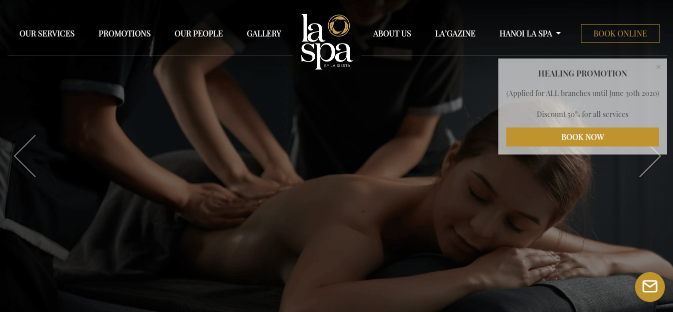 spa massage hà nội