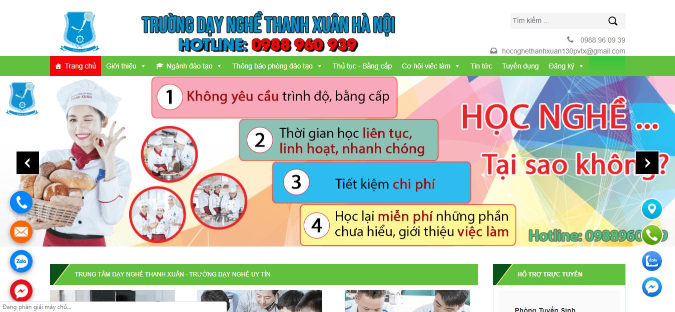 trung tâm dạy nghề hà nội