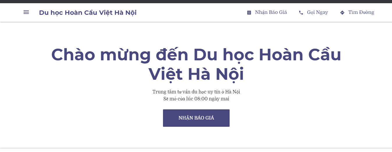 Trung tâm tư vấn du học Hà Nội