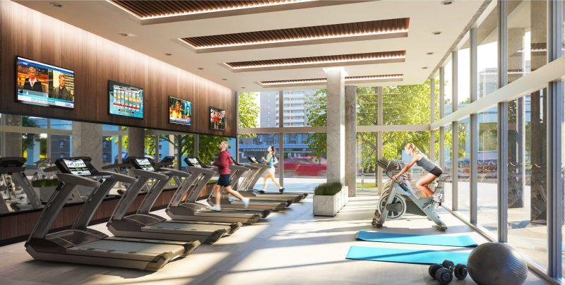 Phòng Gym Nam Nữ Hồng Mai
