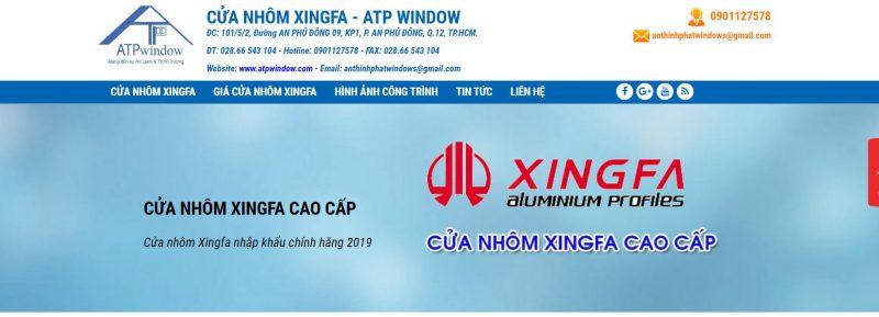 ATP Window- Cửa Nhôm XingFa TpHCM