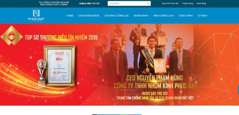 Công Ty TNHH Nhôm Kính Phúc Đạt- Cửa Nhôm XingFa Thành Phố Hồ Chí Minh