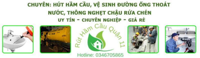 dịch vụ thông cống quận 11 HCM