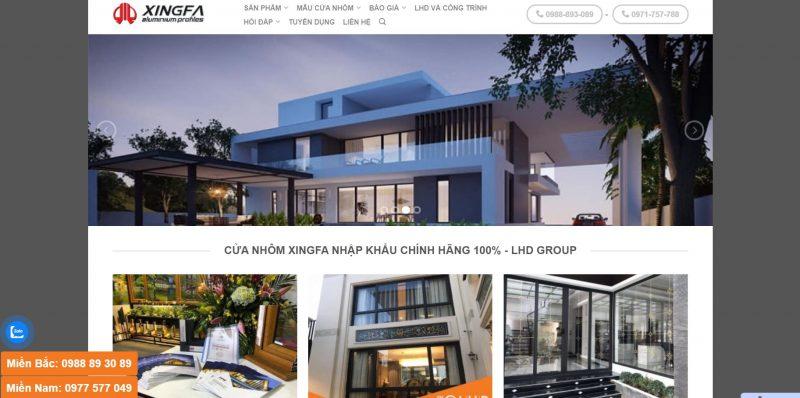 LHD Group - XingFa Nhôm Nhập Khẩu