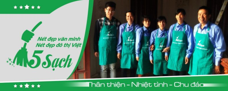 Công Ty Vệ Sinh 5 Sạch Hà Nội
