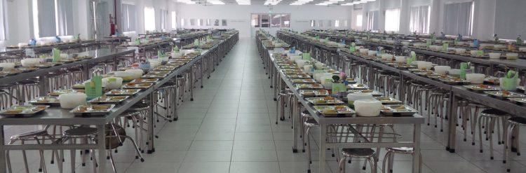 Suất ăn công nghiệp Bình Dương