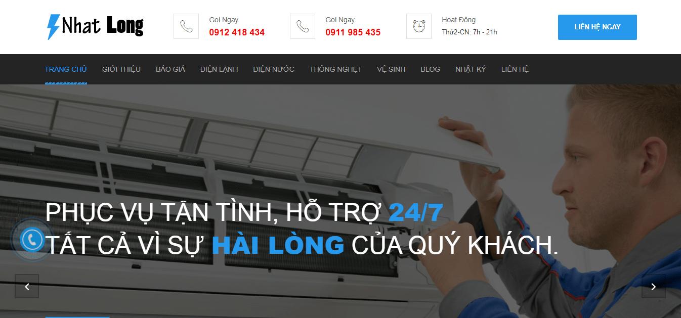 bảo trì máy lạnh hcm