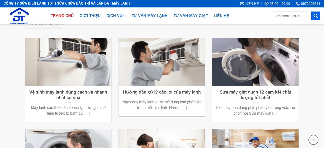 làm sạch máy lạnh sài gòn
