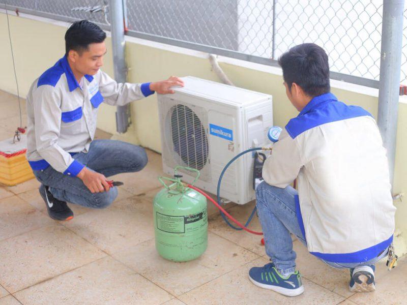 Dịch Vụ Bơm Ga Máy Lạnh Chuyên Nghiệp Tại Hồ Chí Minh