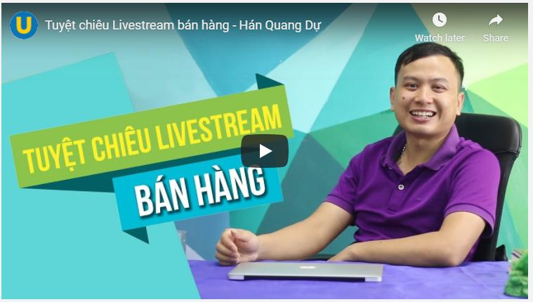 khoa hoc livestream