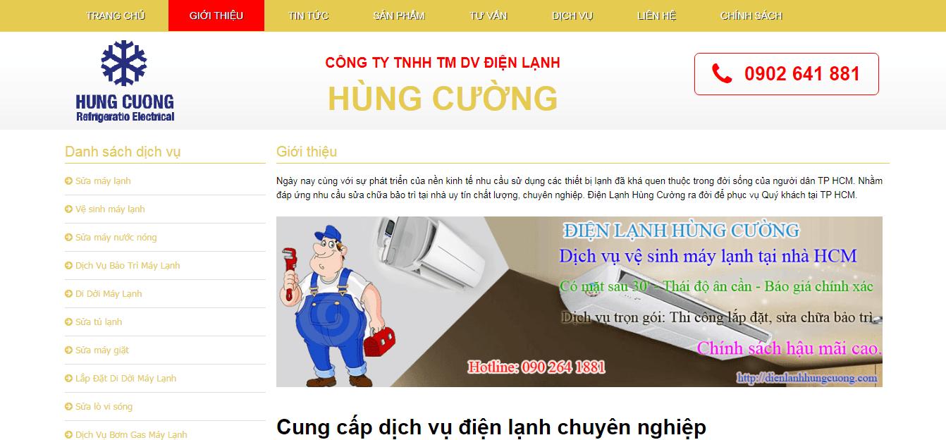 sửa máy lạnh HCM