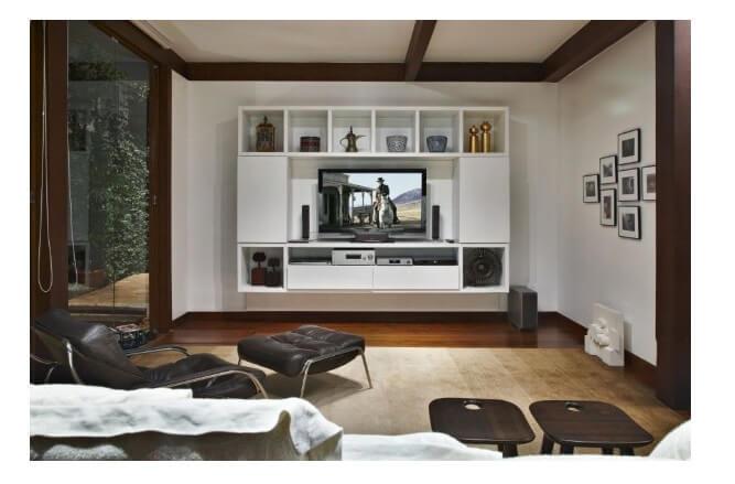 Kệ để tivi phù hợp với nội thất và phong cách thiết kế
