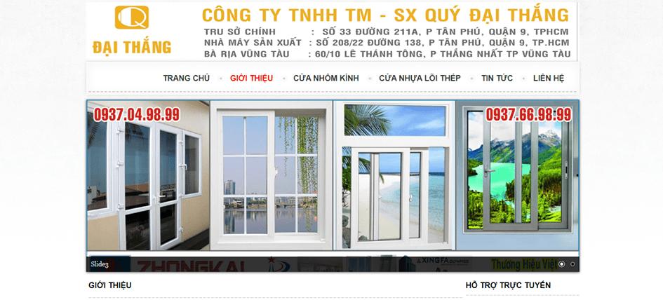 cửa nhôm xingfa HCM