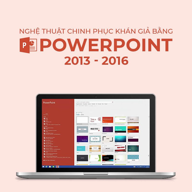 PowerPoint 2013/2016 Tips & Tricks: không chỉ là trình chiếu chuyên nghiệp