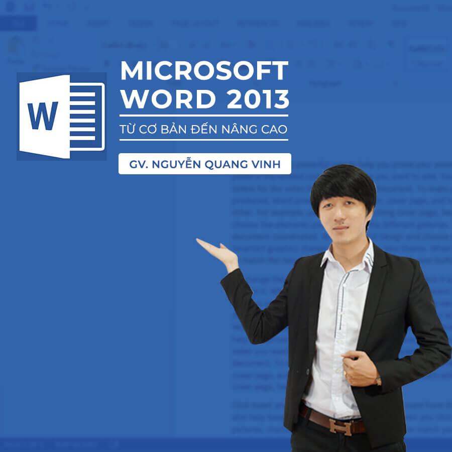 khóa học online về word
