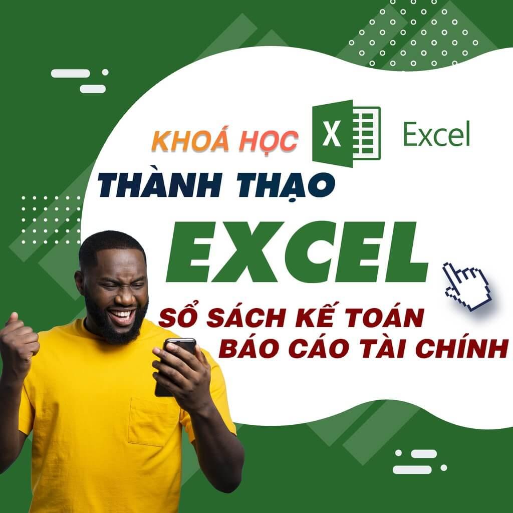khóa học Excel ứng dụng kế toán