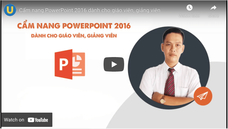 khóa học về PowerPoint