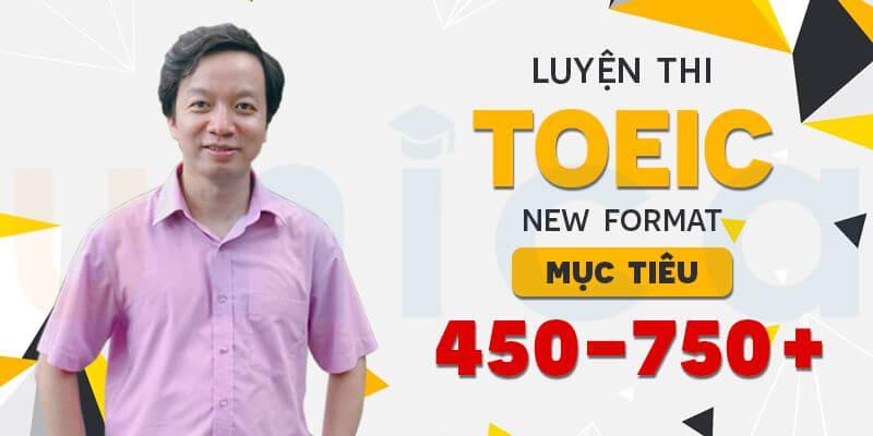 khóa học Toeic 450+