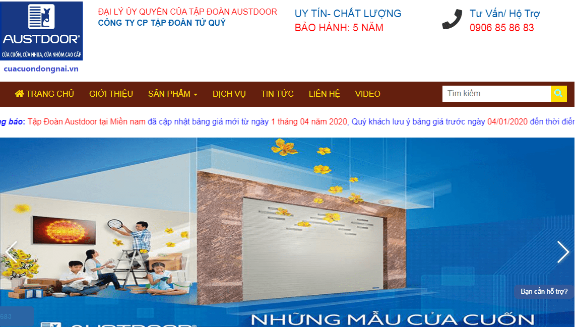 Cửa Cuốn Đồng Nai