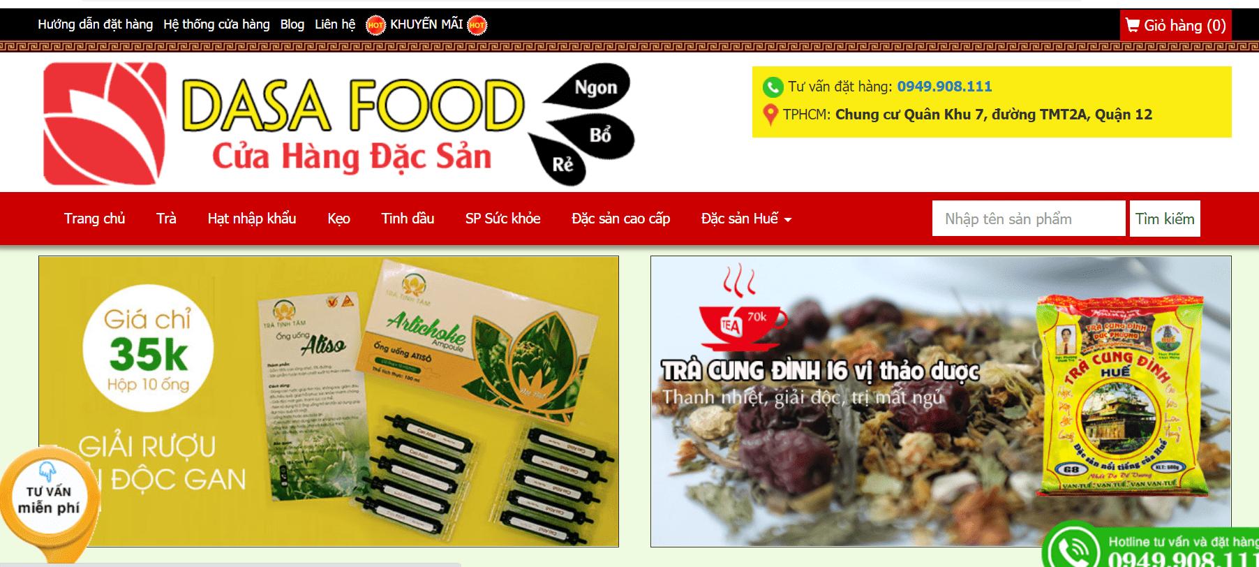dasa food