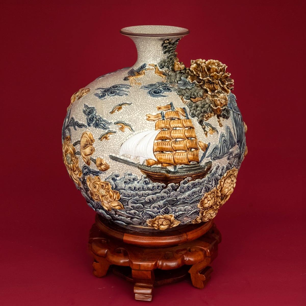 đồ phong thủy bằng gốm sứ