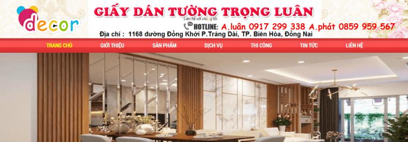 giấy dán tường Biên Hòa