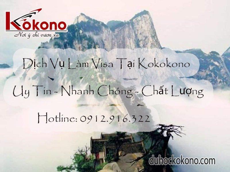 dịch vụ làm visa Đồng Nai